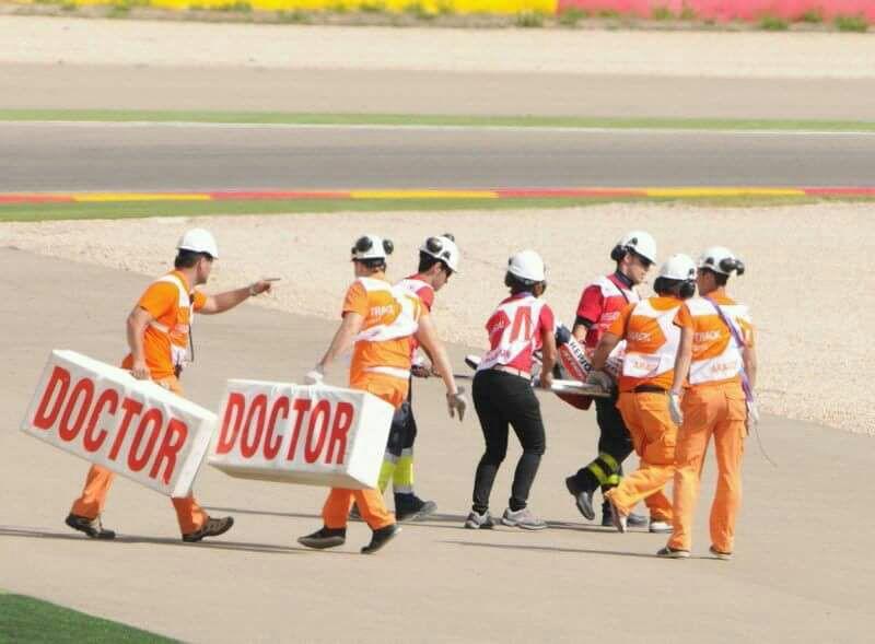 Pizzone en el Gran Premio de Motorland Aragón