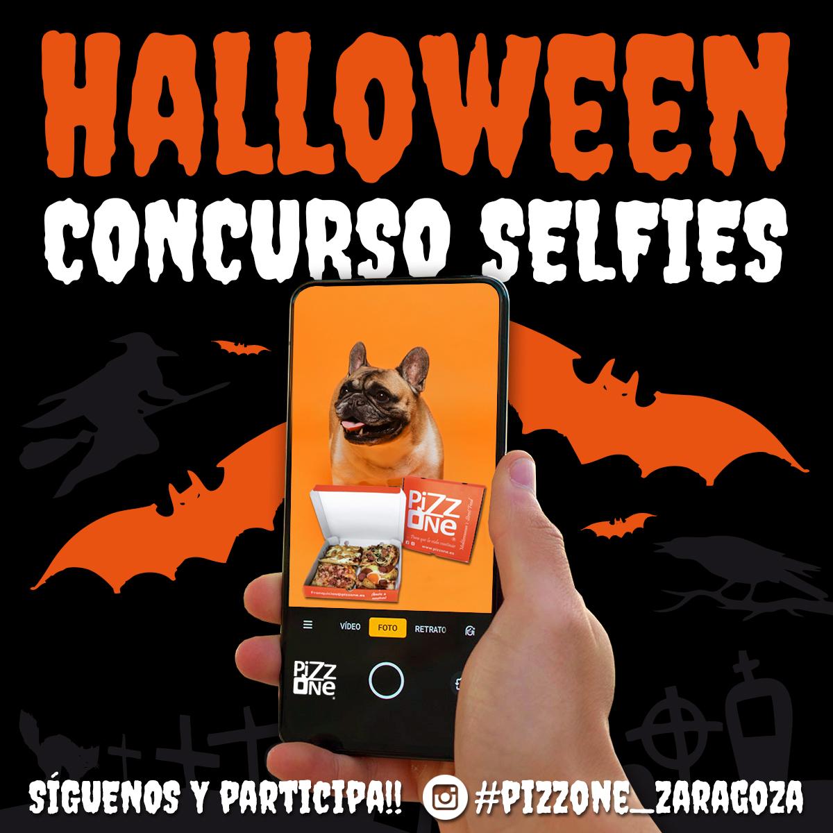 Concurso de Selfies de Halloween